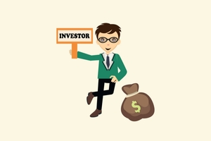 Investor with Money Bag